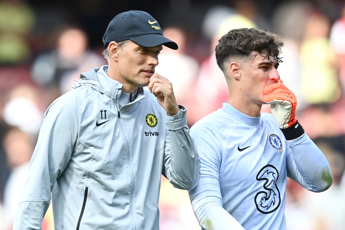 Kepa Arrizabalaga is finally 'happy' and the pressure is off £72million goalkeeper at Chelsea, Thomas Tuchel claims
