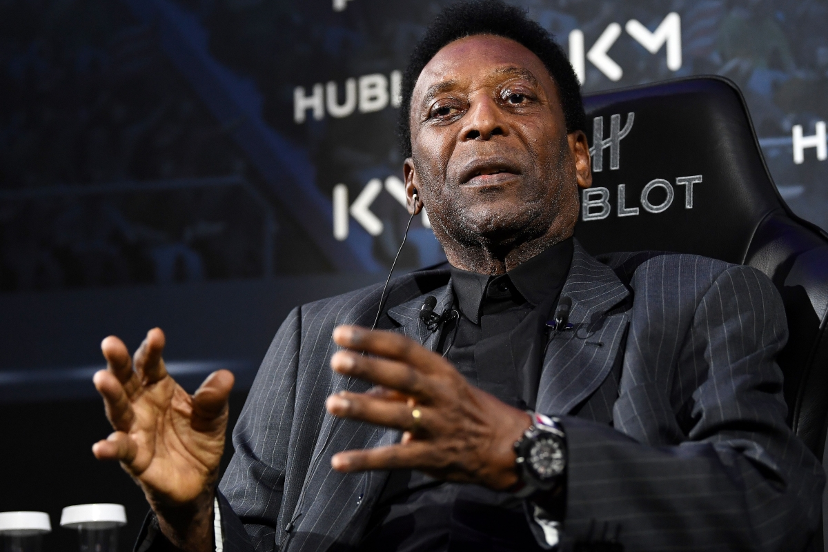 Pele's daughter claims Brazil icon is 'recovering well' after being readmitted to intensive care unit of hospital
