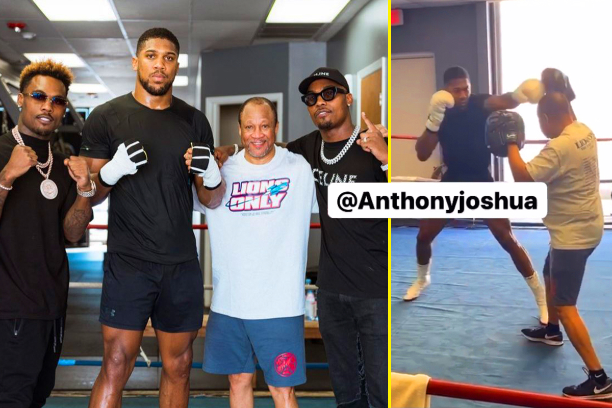 Anthony Joshua changing trainer for Oleksandr Usyk rematch, confirms US coach Ronnie Shields who has been working with AJ for past two days